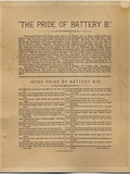 The Pride of Battery B, by Frank H Gassaway Photographic Print