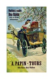Poster Advertising the 'New Rapide' Sewing Machines, A. Papin Tours, 10 Rue Des Halles Giclee Print