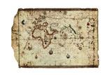King Hamy' Navigational Chart, 1502 Giclee Print by Amerigo Vespucci