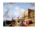 Doge's Palace Giclee Print by Richard Parkes Bonington
