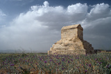 The Tomb of Cyrus the Great (C.600-530 BC) at Pasargadae Photographic Print