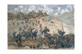 Attack of the Bastion Central by the French Troops under General Desalles During the Siege of… Giclee Print by George Cadogan