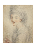 Portrait of Angelica Kauffman Giclee Print by Francesco Bartolozzi