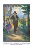 The Bells Were Ringing in Every Direction Now, Sounding Louder and Fuller as They Neared the… Giclee Print by Jessie Willcox-Smith