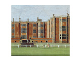 View of Temple Newsam House, C.1750 (Detail) Giclee Print by James Chapman