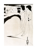 The Woman in the Moon, Salome, 1894 Giclee Print by Aubrey Beardsley