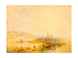 A Study of Rouen Giclee Print by Henry Dawson