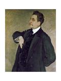 Portrait of Vladimir Girshman Giclee Print by Valentin Aleksandrovich Serov