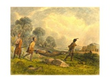 Transporting the Wounded, 1853 Giclee Print by Captain Seth Eastman