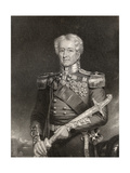 Sir Robert Henry Sale, Engraved by F. Holl, from 'The National Portrait Gallery, Volume III',… Giclee Print by Henry Moseley