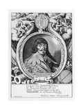 Portrait of Bernard of Saxe-Weimar, Published by Friedrich Van Hulsen, 1615-1660 Giclee Print by Sebastian Furck