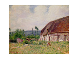 Thatched Cottage in Normandy, 1894 Giclee Print by Alfred Sisley