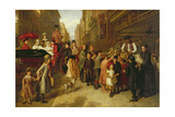 Poverty and Wealth, 1888 Giclee Print by William Powell Frith