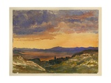 Jezreel Valley Giclee Print by Claude Conder