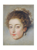 Portrait of Queen Henriette-Marie of France Giclee Print by Frans II Pourbus