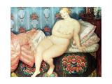 Beauty Giclee Print by Boris Mikhailovich Kustodiev