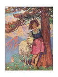 Heidi Giclee Print by Jessie Willcox-Smith