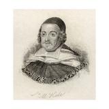 Sir Matthew Hale, from 'Crabb's Historical Dictionary', Published 1825 Lámina giclée