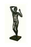 The Age of Bronze, 1877 Giclee Print by Auguste Rodin