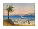 Sea of Galilee Giclee Print by Claude Conder