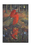 The Leaf Giclee Print by Elizabeth Adela Stanhope Forbes