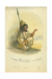Mohammed Ahmet from Mecca, 1872 Giclee Print by Claude Conder