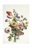 Study of a Bunch of Flowers, 1817 Giclee Print by Antoine Berjon