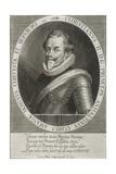 Portrait of Christian I of Anhalt-Bernburg, 1615 Giclee Print by Lucas Kilian