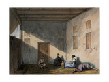 Prison Scene, 1842 Giclee Print by Lieutenant Vincent Eyre