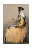 Mrs Eyre, 1842 Giclee Print by Lieutenant Vincent Eyre