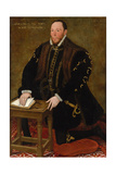 Portrait of the Blessed Thomas Percy, 7th Earl of Northumberland Giclee Print by Steven van der Meulen