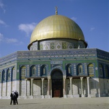 The Dome of the Rock, Temple Mount, Built Ad 692 Photographic Print