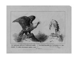 Our National Bird, Published 1861 Giclee Print by Michael Angelo Woolf