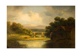 The Old Mill, Bath Giclée-Druck von Alfred Vickers