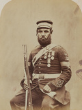 Colour-Sergeant J. Stanton, Royal Sappers and Miners, 1856 Photographic Print by  Joseph Cundall and Robert Howlett
