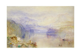 Lucerne, Sunset Giclee Print by Joseph Mallord William Turner