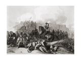 The Storming of Bristol, 26th July 1643, Engraved by J.C. Varrall Giclee Print by George Cattermole