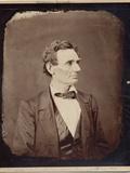 Abraham Lincoln (1809-65), 16th President of the USA, Copy Print after Photo by Alexander Hesler,… Photographie par Alexander Hesler