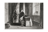 Cromwell Viewing the Body of Charles I, 1649, Engraved by L. Stocks Giclee Print by George Cattermole