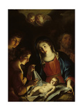 The Madonna Adoring the Infant Christ Giclee Print by Pietro Antonio Rotari
