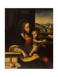 Virgin and Child, 1529 Giclée-Druck von Joos Van Cleve