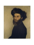 Portrait of a Young Jewish Man Giclee Print by Isidor Kaufmann
