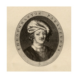 Paracelsus Theophrastus, Illustration from 'Varia: Readings from Rare Books' by J.Hain Friswell… Giclee Print by J. Cooper