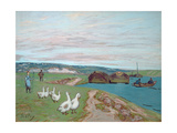 The Goose Girl Giclee Print by Alfred Sisley