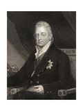 King William IV, Engraved by J. Cochran, from 'National Portrait Gallery, Volume III' Published… Giclee Print by Henry Dawe
