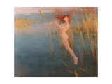 The Long Cry of the Reeds at Even, 1896 Giclee Print by Alexander Mann