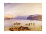 Ullswater, Cumberland, C.1835 Giclee Print by Joseph Mallord William Turner