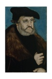 Portrait of Frederick the Wise, Elector of Saxony, C. 1525-1527 Giclee Print by Lucas Cranach the Elder