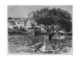 View of Safed, from 'La Syrie D'Aujourd'Hui. Voyages Dans La Phenicie, Le Liban Et La Judee.… Giclee Print