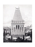 The Original Mausoleum, Illustration from 'Hutchinson's History of the Nations' Giclee Print by Charles Robert Cockerell